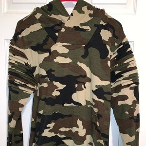 Women's/Juniors Army Fatigue Hoodie